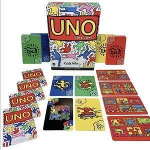 Keith Haring Uno Artist Series Sealed RARE